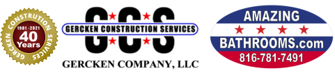 Gercken Construction Services - 40 years Logo-D