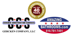 Gercken Construction Services - 40 years Logo - lg