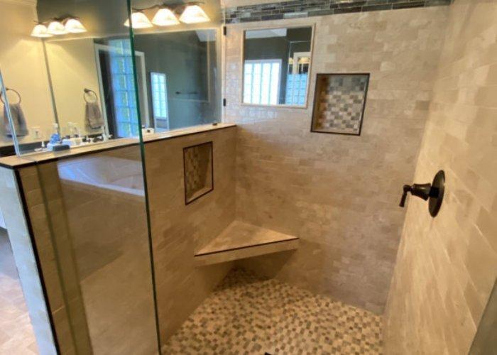 Branson - Master Bathroom Shower Remodel